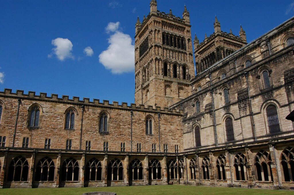 Durham Castle and Cathedral World Heritage Site.