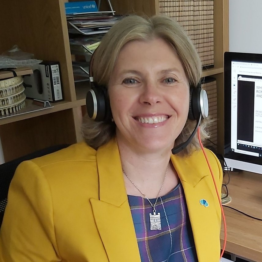 Rebecca Jones from Historic Environment Scotland.